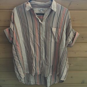 Madewell Central Shirt Stripe